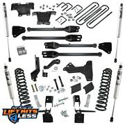 Superlift K171f 6and039and039 4 Link Kit W/ Fox Shocks For 2017-2019 Ford F-250/f-350 Sd