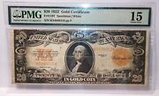 Lot Of 51922 20 Pmg Gold Certificates Middle Grade Details122 100pmg