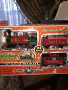 Lionel Holiday Train Set G Guage Battery Operated Plays Chris.carols-brand New