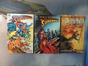 Superman Tpb Lot Of 3 Books Worlds Finest World Without Panic In The Sky 1st