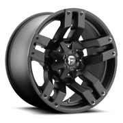 4 20x9 Fuel Matte Black Pump Wheel 5x139.7 And 5x150 For Ford Jeep Toyota Gm