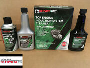 Toyota Approved Servicerite Top Engine Induction System Cleaner Kit
