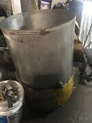 70 Gallon Stainless Steel Tank With Drain And 2- Trx-55 Heaters . Works
