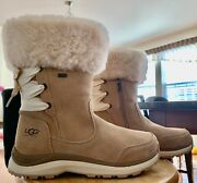 Ugg 1095140 Brown Ingalls Waterproof Boots Size7