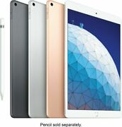 Apple Ipad Air 64gb 10.5 Wi-fi Newest Version 2019 Space Gray Gold Silver