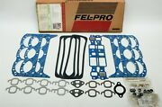 86-92 Chevy Gmc 262 4 Cylinder Head Intake Exhaust... Gaskets Fel-pro Hs9354pt1