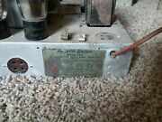Vintage Philco Cathedral Radio Model 20 Chassis Only Untested Parts And Repair
