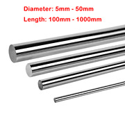 Cylinder Rail Linear Shaft 5mm - 50mm Hardened 45 Steel Smooth Rod Optical Axis