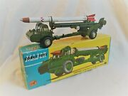 Corgi Toys Major No. 1113 Corporal Guided Missile On Erector Vehicle Boxed