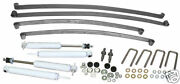 1948-52 Ford F-1 Truck Suspension Kit, Mono Leaf Springs And Shocks 4-6 Drop