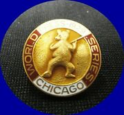 1929 Chicago Cubs World Series Press Pin - Mint-great Deal Collectors Item