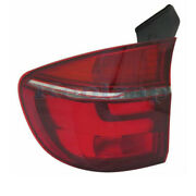 Fits 11 12 13 Bmw X5 Outer Taillight Taillamp Rear Brake Light Lamp Driver Side