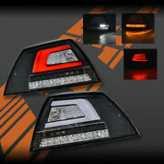 Black 3d Led Bar Sequential Indicator Tail Lights For Holden Commodore Ve Sedan