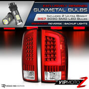 Super Bright Led Backup Bulb Cyclop Optic Tube Red Tail Light 02-06 Ram Truck
