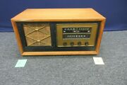 Antique Stromberg Carlson Tube Radio Courier 1210-h Table Top Am Fm