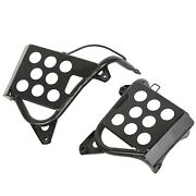 Enhance Qua Heel Guards Footrest Stand For Yamaha Banshee Left And Right Nerf Bars