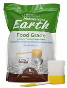 Harris Diatomaceous Earth Food Grade 5lb With Powder Duster Included In The Bag