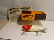 Vtg Fishing Lure Bomber Tackle Old Stock With Box 404