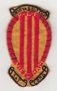 Wartime Vietnamese Made Us Navy Pbr Patch, Brown Water Navy 1558