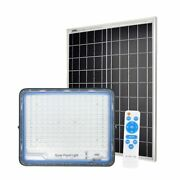 Led Solar Flood Light 10 Modes 100w - 300w Outdoor Wall Security Project Lamp