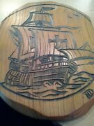 Wooden Ships Plaque