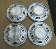 14 1970 Chevrolet Chevelle 6 Spoke W/o Wire Type W/o Mag Type Hubcaps