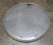 Fibes 18 Clear Tom Drum Head Vintage 1970and039s