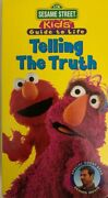 Sesame Street Kids Guide To Lifetelling The Truth Vhs 1997-tested-rare-ship N24