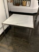 Steelcase Marble Desk Square Top Square Midcentury Modern Furniture