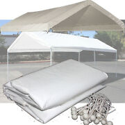 14 X 20 Feet Top Canopy Cover Waterproof Domain Carport Out Door Shelter 14'x20'
