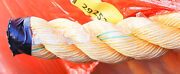 Lfs 1 1/2 X 594and039 12-strand Braided Polyester Ropeyellow Anchor Line