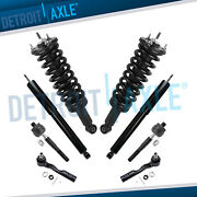 For 4wd 2003 2004 2005 2006 Toyota Tundra 8pc Front Struts Rear Shocks Tie Rods