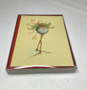 Patience Brewster Christmas Card Set Package Of 10 Cards And Envelopes New