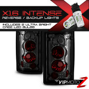 {high-power Smd Reverse} Ford Excursion Econoline {smoking Chrome} Tail Lights