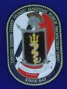 Uscg Coast Guard Maritime Force Protection Unit Kingsbay Challenge Coin M-2