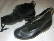 Ww2 Wwii German Infantry Officer Combat Pair Shoes Shoe Boots Size 40/41 New