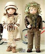 Vogue Sewing Pattern 8144 18 Doll Clothes Jacket Pants Coat One Size