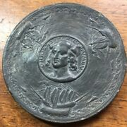Nice Christopher Columbus 1892 2 Medal From New York Committee Of 100