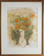 Theodore Polos Abstract Watercolor