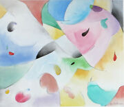 June Felter - Lyric Abstract Watercolor