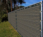 Ifenceview 5and039x1and039-5and039x100and039 Dark Brown Fence Privacy Screen Fabric Garden Balcony