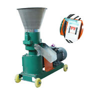 220v 3kw 8mm Chicken Feed Pellet Mill Machine Farm Feed Machine For Large Animal