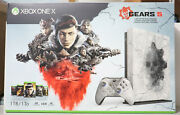 Microsoft Xbox One X Gears 5 Limited Edition Console 1tb Brand New And Rare Usa
