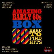 Amazing Early 60's Box 88 Hard To Find Hits By Various Artists Cd 2013 3 Discs