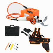 36v Electric Fruit Tree Scissors Rechargeable Tree Branch Pruning Shears 4.5cm
