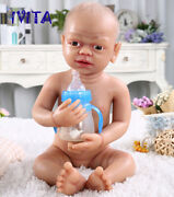 Girl Playmate Toys Gift 22 Lifelike Silicone Newborn Hair And Skeleton Doll