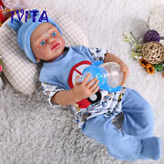 5000g Silicone Newborn Hair And Skeleton Lifelike Doll Girl Playmate Toys Gift