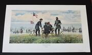 Mort Kunstler - I'll Be Moving Within The Hour - Collectible Civil War Print