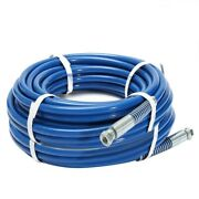 43ft 1/4 Airless Paint Sprayer Hose Sprayer Gun Flexible Fiber Tube 3300psi
