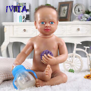 Newborn Playmate Toys 22 Silicone Rebirth Hair And Skeleton Doll Girl Toys Gift